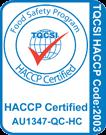 TQCSI HACCP Certified
